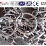 copetitive price super quality SUS304/316/316L stainless steel pump lifting chains with round ring