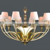 high technology brass pendant lamp classical for interior decoration