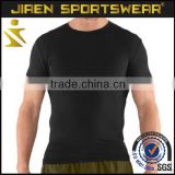 gym apparel Compression shirt Custom Dri Fit T shirts Mens Compression Fit Long Sleeve Shirt