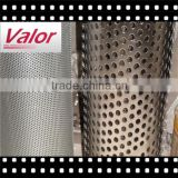 Anping Valor provide Perforated Mesh ISO9001/round peforated metal wire mesh/perforated metal mesh