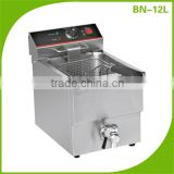 Stainless steel commercial chicken pressure fryer/continues fryer BN-12L