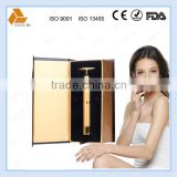24K luxury gold t-shape personal beauty care facial massager bar