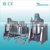 China supplier Guangzhou Shangyu hydraulic lifting homogenizing cosmetic emulsifying machine
