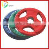 Olympic Standard Colored Rubber Coated Weight Plate                                                                         Quality Choice