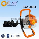 63cc gasoline earth auger deep hole drill low vibration high performance export standard China GZ-48D