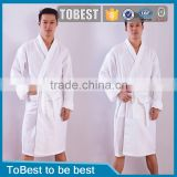 Cotton waffle Classic Hotel bathrobe pyjamas for men and women section waffle lovers bathrobe