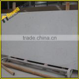 Wholesale synthetic white carrara quartz slab tiles cut to size