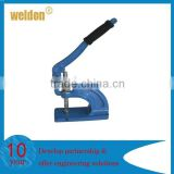 Weldon hand press sprong snap button machin manual eyelet machine hand press punching machine
