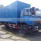 good price Dongfeng 15 tons van truck with tail lift cargo van trucks