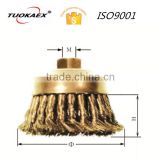 Knot wire cup brush non sparking brass knot wire cup brush                                                                         Quality Choice