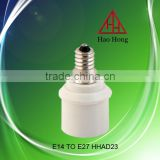 HAO HONG High quality E14 to E27 lamp adapter