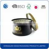 Round hat storage box with handle wholesale                                                                         Quality Choice