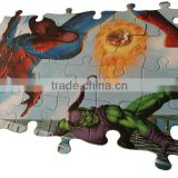 2015 Crawling Man Fighting Fire Ball 48 Pcs customized paper Jigsaw Puzzle