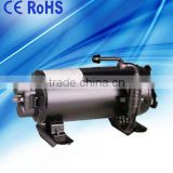 RV recreation vehicle camper track travelling truck air conditioning of roof mounted compressor