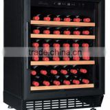 26bottles Single temperature zone /doulble temperature zone wine cellar,wine cooler with built in or free standing fan cooling