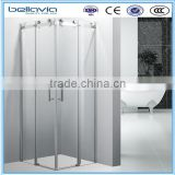 bathroom shower glass big wheels 6828Bsliding shower enclosure,square shower room,designed shower cabin roller