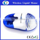 2.4Ghz Wireless Custom Floater Optical Mouse Liquid for Any color