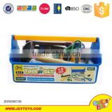 Hot sale plastic cheap toy mechanic tool box set toys