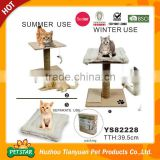 2016 New Pet Products Wholesale Cat Scratcher Lounge with Removable Cushion