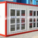 Cheap prefab homes with high quality/prefabricated sandwich panel house/ light steel frame house