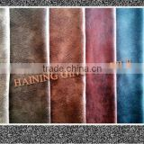 Haining 100% Polyester warp knitting fabric textile for home use,upholstery toy/sofa fabric