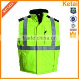 Custom Design Safety Vest and Promotional Logo Printed Reflective Safety Vest
