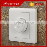 China BIHU White fire resistance PC dimmer switch 220v led dimmer switch