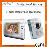 Good looking and good price 7 inch video door phone video intercom video door bell with access control system