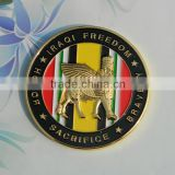 Free sample custom embossed gold replica coins