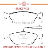 front axle four wheel car brake pad for LANCIA KAPPA vehicle