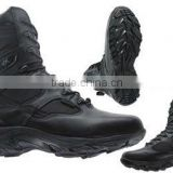 winter mens leather boots / battey heated working boots