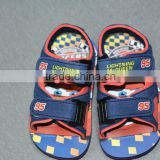 china footwear cartoon charater kids slide sandals