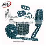 Construction machinery parts track link assy, excavator track chain from china manufacture