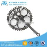 Bike Cycle Bicycle Triple Chain Wheel Ring For 1 Piece Crank 28 38 48T x 3/32