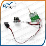 G2655 flysight CM100T 5.8g wireless 200mw fpv TX transmitter module with 1g mini fpv camera for mini rc drone