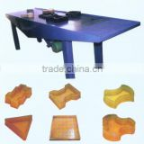 Vibrator force concrete paving brick vibration table