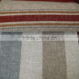 China curtain factory wholesale hotel living room stripe chenille curtain fabric for modern style