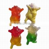 Lovely Dancing Rabbit Gummy Cand(animal shape fruit gummy candy)