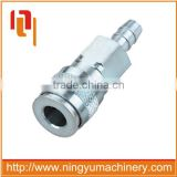 High Quality USA Type one touch auto-locking stainless steel quick release air couplings
