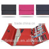 BUBM 2016 folding Cover Case For macbook pro 13inch waterproof laptop bag black blue red for your choose