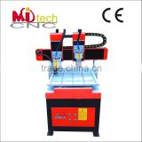 Alibaba China mini double heads 3D carving mini cnc router machine / mini jewelry cnc router