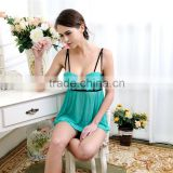 New arrival fresh green nude mature women plus size lingerie