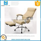 J86 Modern Office Chair Bed High Back Ergonomic Gas Lift PU Leather Executive Chair with Footrest