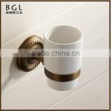 11538 best selling hot chinese products antique bronze tumbler holder zinc alloy vintage bathroom accessories