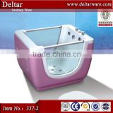 Cheap price plastic baby bath tub make in China,red color baby tub baby bath tub with stand