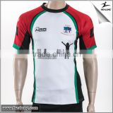 Wholesale quality custom make christmas sublimated rugby jersey,sublimation soccer jersey