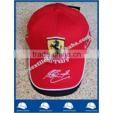 cheap advertising promotional football team club cotton twill baseball cap