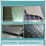Factory direct sale steel grating with cover / safty floor plates for floor or trench cover