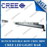 High Power big size cree 288w led light,24v led offroad light bar,spot/flood/combo beam 21120Lm headlights