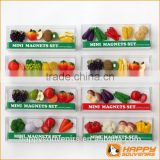 Super Cute Mini a set fruit magnet fridge magnet for tourism